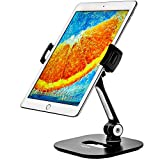 Ipad holder - Tablet Stand - Adjustable Tablet Holder for Home or Office - Ipad Stand fits 7-11 inch Samsung iPhone Amazon Kindle iPad Air Mini tablets and phones - with Camera Adapter