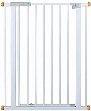 Portones de escalera Bebé extra alto de 100 cm con puerta de cierre automático, protector de