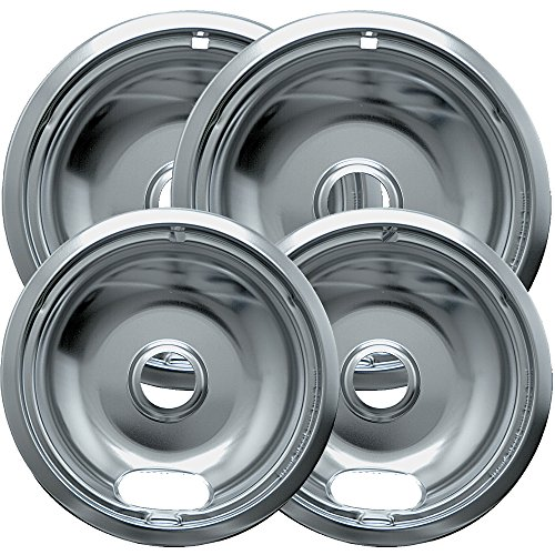 - Range Kleen Kitchen 4-Piece Drip Bowl, Style A fits Plug-in Electric Ranges Amana, Crosley, Frigidaire, Kenmore