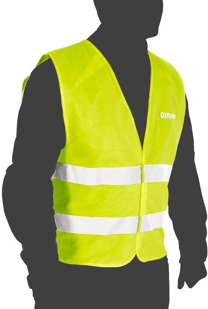 Multipurpose Oxford Protection De S/écurit/é Gilet de signalisation Compact Toute lann/ée Unisexe