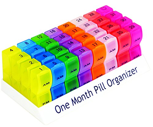 Aidapt One Month Pill Organiser (Eligible for VAT Relief in The UK)