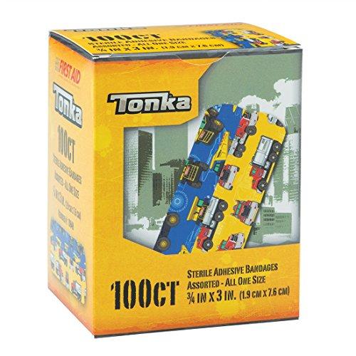 Tonka Truck 100CT Sterile Adhesive Bandages - 3/4x3