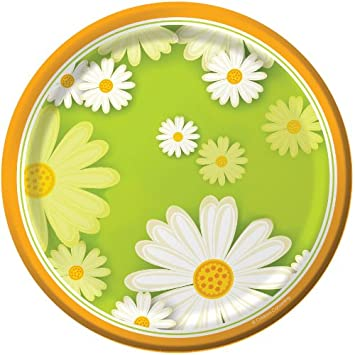Fading Daisy 7-inch Paper Plates 8 Per Pack  sc 1 st  Amazon.com & Amazon.com: Fading Daisy 7-inch Paper Plates 8 Per Pack: Health ...