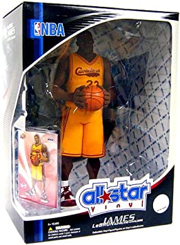 Image Unavailable. Image not available for. Colour  Upper Deck NBA Series 1 All  Star Vinyl Figure Lebron ... 2f8b139a6