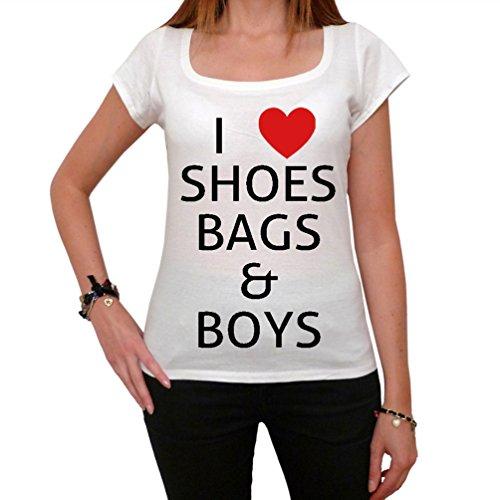 I love shoes bags and boys Paris Hilton New York Women's T-shirt picture celebrity