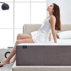 Molblly 10 inch memory foam mattress is a mattress in a box that encompasses the comfort of memory foam, minimizes pressure on the body. All-foam bed design combined expertise and the best materials with advanced sleep technology. Memory foam...