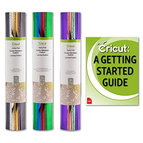 Cricut Party Foil Samplers Bundle