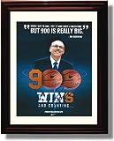 Framed Jim Boeheim Autograph Replica Print - Syracuse Orange - 900 Wins
