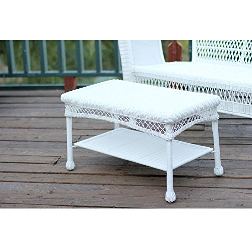 Cheap Outdoor Resin Wicker Coffee Table by Jeco