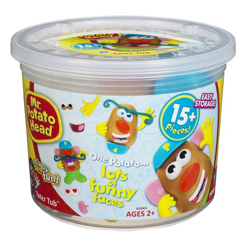 Potato-Head-Playskool-MrPotato-Head-Tater-Tub-Set