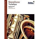 Music RCM Saxophone Series 2014 Edition - Technique