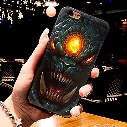Blue Orange D Dota  Roshan Iphone  S Plus Case Dota Heroes Print Iphone S