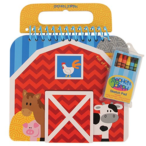 stephen-joseph-shaped-sketch-pad-farm