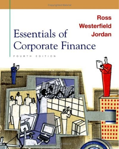 Essentials of Corporate Finance 4th ed PDF