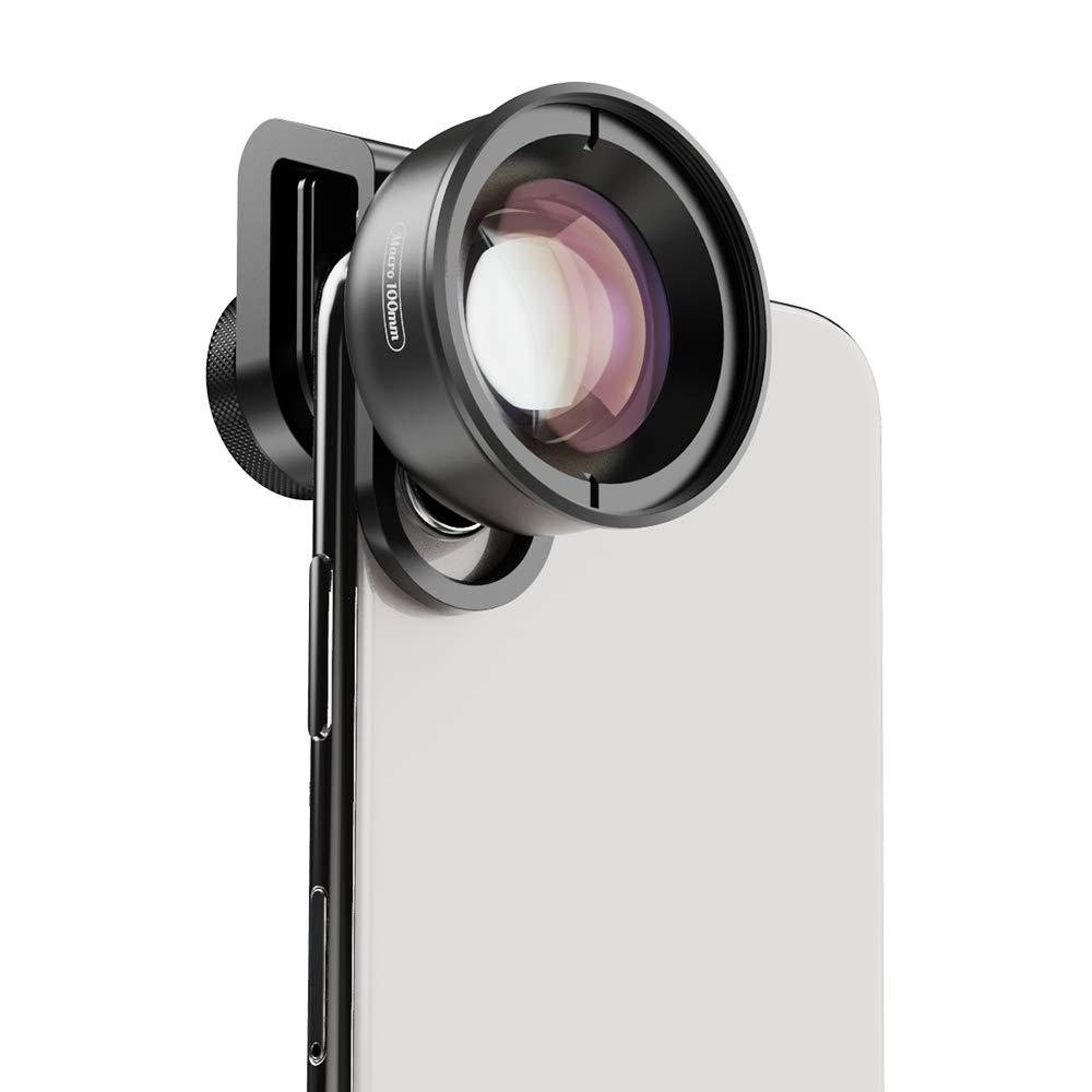 Apexel Camera Phone Lens PR50 Macro Phone Lens for Dual Lens/Single Lens iPhone 8 Plus,Pixel,Samsung Galaxy