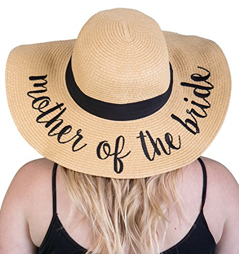 H-2017-MOTB Funky Junque Bridal Sun Hat - Mother of The Bride