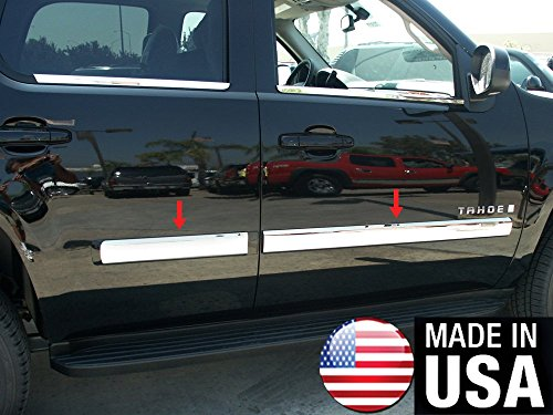 Made in USA! Works with 2010-2014 Chevy Tahoe/GMC Yukon Body Side Molding 4.25