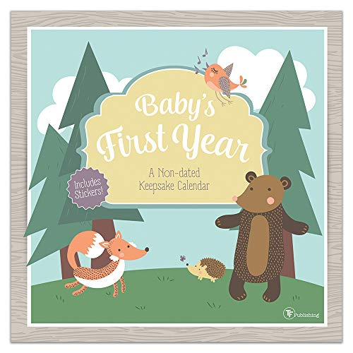 Babys First Year Woodland: A Non-Dated Keepsake Calendar (With -