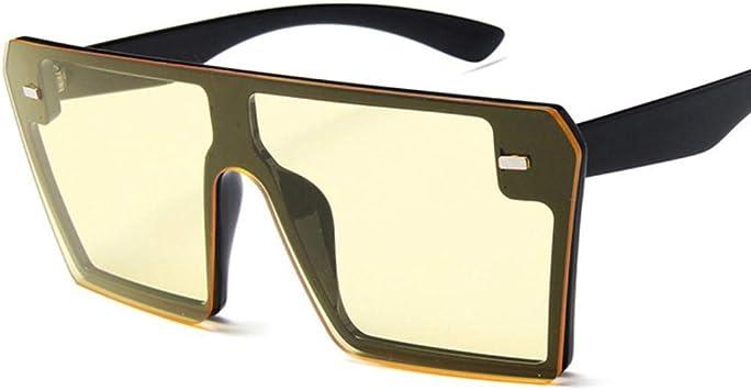 Square Mirror Homme Lunettes De Soleil Sports de plein air Oversize eyewear Conduite Lunettes De