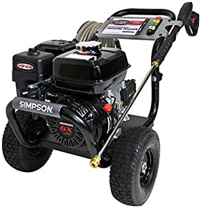 SIMPSON Cleaning PS3228-S 3300 PSI at 2.5 GPM Gas Pressure Washer Powered by HONDA with AAA Triplex Pump