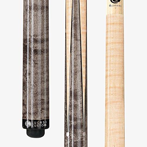 (Lucasi Custom LZ2000SPG Pool Cue Stick + 12.75mm Shaft + Uni-loc + Soft CASE)