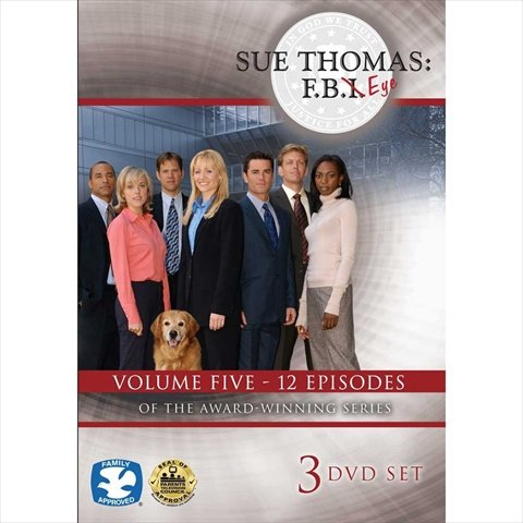 Cicso Independent DVD439 Sue Thomas - F.B.Eye Volume 5 3-DVD Set