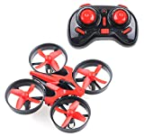 ProAce RTF Quadcopter Mini UFO Drone 2.4G 4CH 6 Axis Blade Inductrix Headless Mode Red