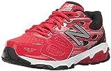 New Balance - Boys KR680V3Y Kids Shoes, UK: 10.5 UK Junior, Red/Black