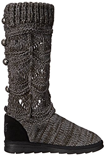 Muk Luks Womens Jamie Crochette Winter Boot Grey 4HpjIM
