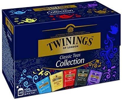 Colección Twinings Classic + Black + Green Teas: Amazon.es: Alimentación y bebidas
