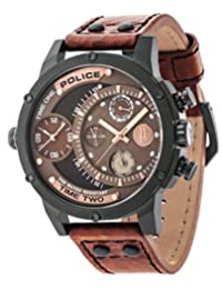 Police PL14536JSB/12A Multifunction Watch with 3 Hands Date