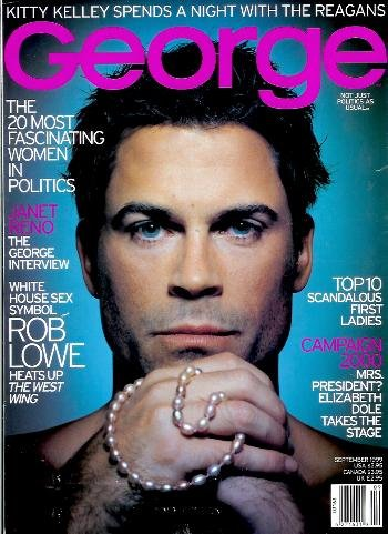 George Magazine - September 1999: Rob Lowe, Janet Reno, the Reagans, & More