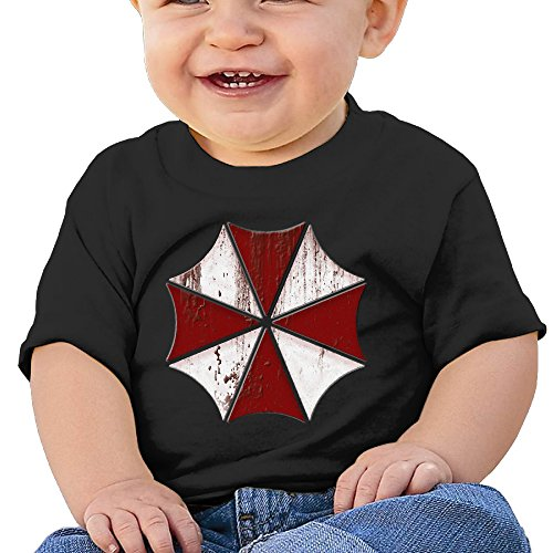 DADVB Baby's Resident Evil Shirt Little Boy's & Girl's Black Size 24 Months (6-24 Months)