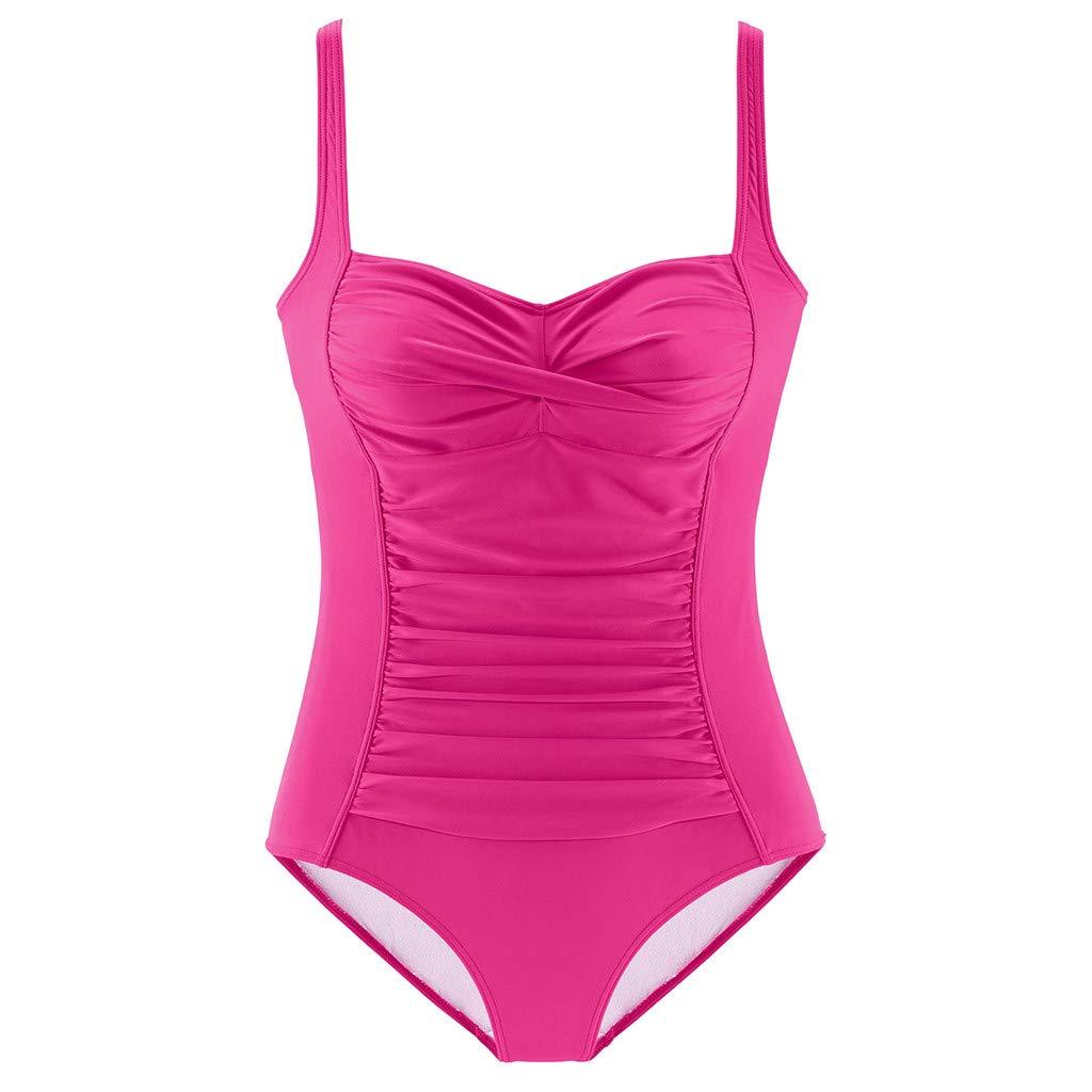 Walaka Bikini Maillot De Bain Femme 1 Pieces Amincissant avec Armatures Bresilien Push Up Rembourr/é Swimwear Beachwear