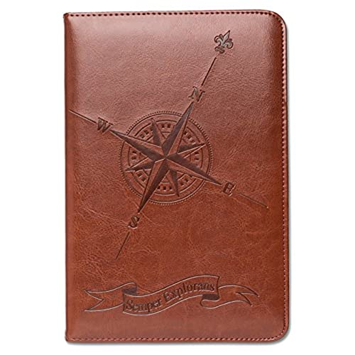 Leather appointment book refillable amazon lined journal travel a5 notebook writers notebook faux leather refillable fountain pen safe nautical gift for him or her sewn binding solutioingenieria Gallery