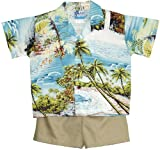 RJC Boys Paradise Island Surf 2pc Set Blue 2T
