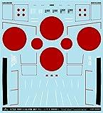 A-72071 アシタのデカール 1/72 中島B5N 九七式艦上攻撃機「国籍マーク&コーションデータ 保安塗装
