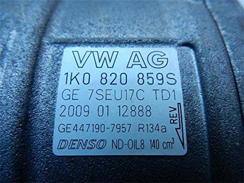 ワーゲン 純正 トゥーラン 1T系 《 1TBLX 》 エアコンコンプレッサー P80400-18003638