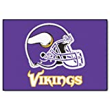 FANMATS NFL Minnesota Vikings Nylon Face Starter Rug