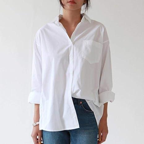 Coner Casual Loose Women Shirts Autumn Fashion Collar Plus ...