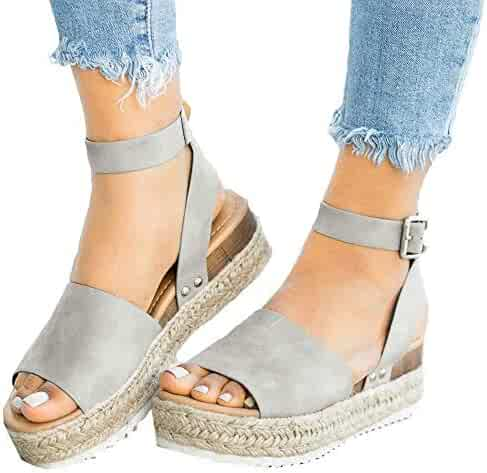 f70cdec875ad3 Shopping 1 Star & Up - Grey - Sandals - Shoes - Women - Clothing ...