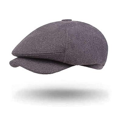 RenTong Sombrero de Vendedor de periódicos Ajustable de Lana ...