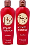 Thermafuse f450 Smooth Balance Shampoo & Conditioner (10 oz) Aftercare For Keratin Smoothing & Straightening Treatments. Sulfate Free, Vegan, Cruelty Free Formula Repairs Damaged Hair On Men & Women