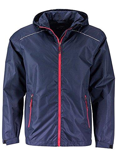 Rain Da red Men's Funzionale Casual Navy Jacket Giacca E Pioggia 4d64wY