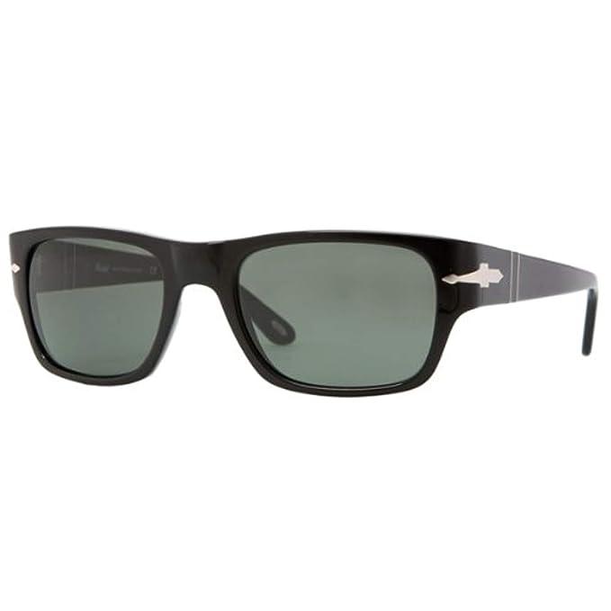 Gafas de Sol Persol PO3021S BLACK - CRYSTAL GREEN: Amazon.es: Ropa y accesorios