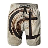 DELIDAA Regeneration Church Men's Boy's Casual Quick-Drying Beach Pant Swim Surf TrunksXX-Large