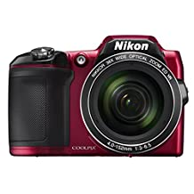 NIKON  L840 RED 16.1Digital Camera (Red) (Discontinued by Manufacturer)