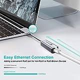 USB C to Ethernet Adapter,ABLEWE Type-C to RJ45 LAN