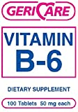 MCK57852712 - Mckesson Brand Vitamin B-6 Supplement McKesson Brand 50 mg Strength Tablet