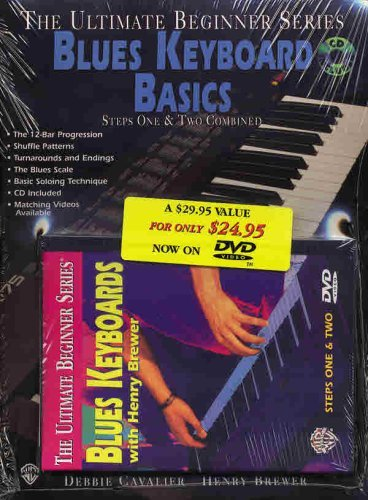 Ultimate Beginner Mega Pak: Blues Keyboard (W/CD) [DVD] ()